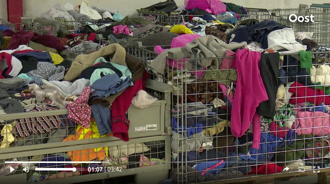 Twente wordt kartrekker in kledingrecycling