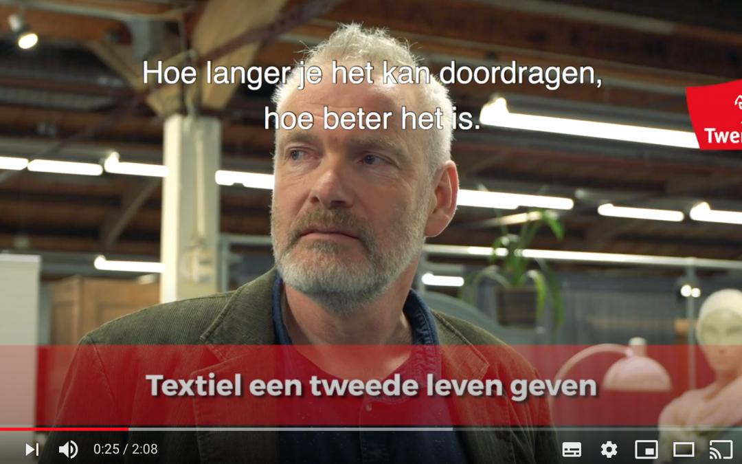 Twentse textielindustrie herleeft met circulaire textiel • Interview met Auke van der Hoek