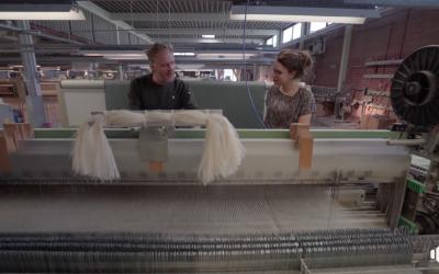 Het Groene Oosten; een kijkje in de fabriek van Enschede Textielstad