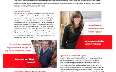Twente Report circulaire textiel